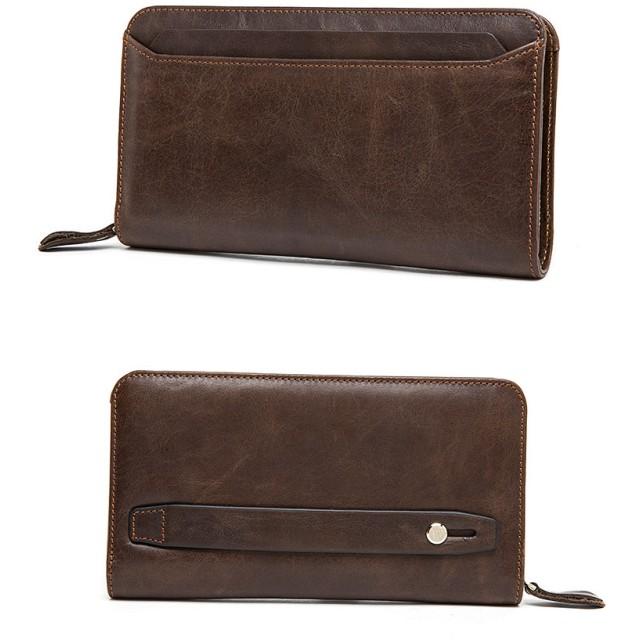 d2c2285a37b0 長財布 - BIG BANG FELLAS 本革 長財布 セパレート カードケース ラウンドファスナー 財布