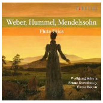 シュルツ/バルトロメイ/ボーグナー/ウェーバー:フルート三重奏曲集