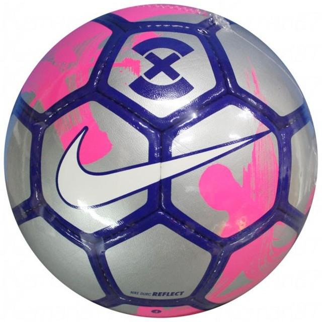 フットボール X デュロ リフレクト リフレクトシルバー×ピンクブラスト 【NIKE|ナイキ】サッカーボール5号球sc3049-061-5