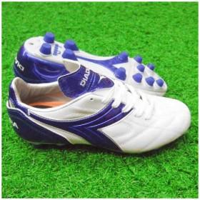 サンパオロRTX12 JR ホワイト×ブルー 【diadora ディアドラ】サッカージュニアスパイク24590j9065