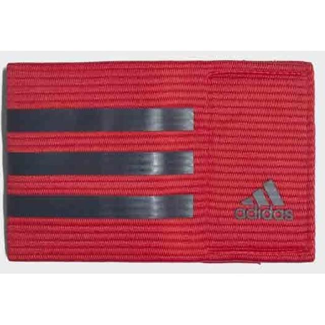 [adidas]アディダス キャプテン アームバンド (CO254)(CF1053) スカーレット/ダークグレー[取寄商品]
