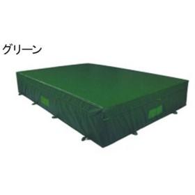 中津テント エバーマット  屋外用 防菌 防臭ウレタンマット 屋内外兼用グリーン HS-320