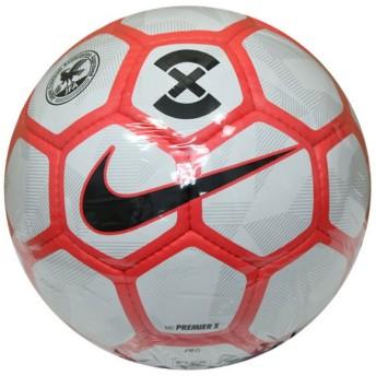 プレミア X ホワイト×ブライトクリムゾン 【NIKE|ナイキ】フットサルボール4号球sc3092-100-pro