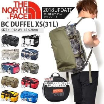 ザ・ノースフェイス THE NORTH FACE ベースキャンプ ダッフル バッグ BC DUFFEL XS 31L BAG アウトドア nm81816 グランピング 2019秋冬新色 リュックサック