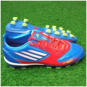 F10 TRX HG J プライムブルーS12×ホワイト 【adidas|アディダス】サッカージュニアスパイクv23994
