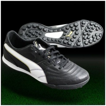 パラメヒコ ライト 13 TT ブラック×ホワイト 【PUMA|プーマ】トレーニングシューズ103075-02