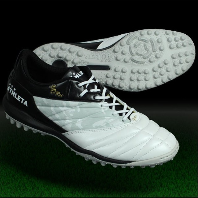O-Rei Treinamento A002 パールホワイト×ブラック 【ATHLETA|アスレタ】サッカーフットサルトレーニングシューズ12003-