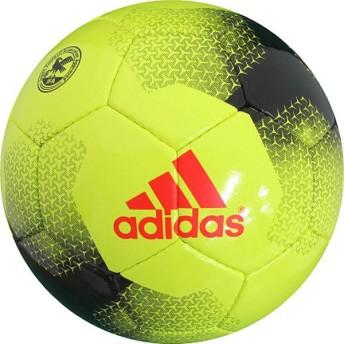エース グライダー イエロー×ブラック 【adidas アディダス】サッカーボール4号球af4611ybk