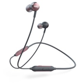 bluetooth イヤホン カナル型 ピンク AKGY100BTPIK [リモコン・マイク対応 /ワイヤレス(ネックバンド) /Bluetooth]