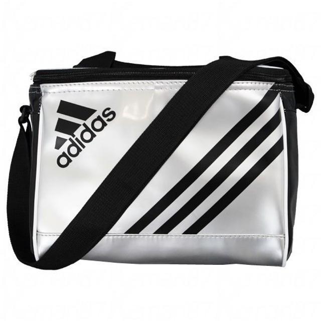 エナメルクーラーボックス テックグレーメットS14×ブラック 【adidas|アディダス】サッカーフットサルバックddv08-f91689