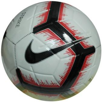 ストライク ホワイト×ブライトクリムゾン 【NIKE|ナイキ】サッカーボール4号球sc3310-100-4