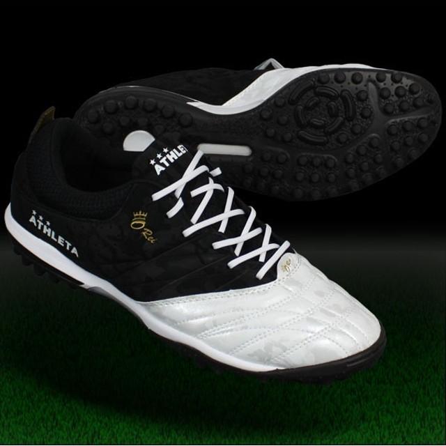 O-Rei Treinamento T001 ブラック×パールホワイト 【ATHLETA アスレタ】サッカーフットサルトレーニングシューズ12002-