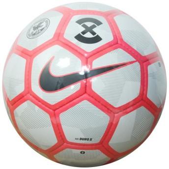 デュロ X ピュアプラチナ×ブライトクリムゾン 【NIKE|ナイキ】サッカーボール4号球sc3161-043-4