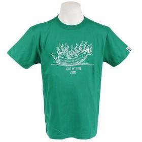 グリップスワニー 【ゼビオ限定】 ショートスリーブTシャツ LIGHTMYFIRE 18SSGRS040007 GRN (Men's)