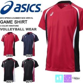 半袖 Tシャツ アシックス asics ゲームシャツHS メンズ レディース ジュニア 子供 キッズ バレーボール ウェア 部活 クラブ 練習 試合 得割25