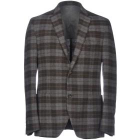 《セール開催中》PAL ZILERI CONCEPT メンズ テーラードジャケット グレー 50 ウール 75% / ナイロン 25%