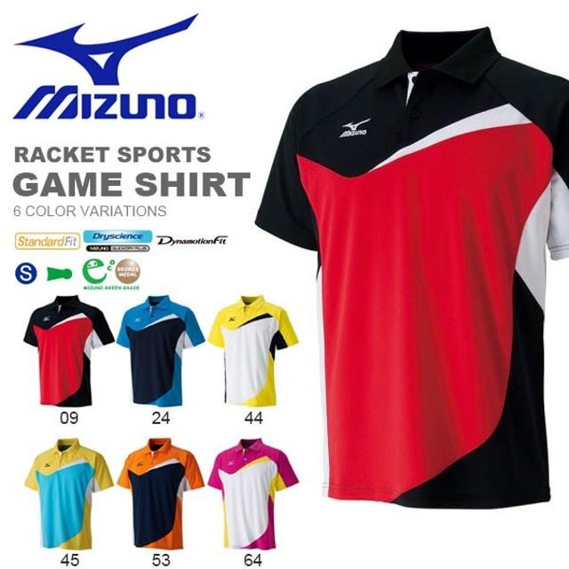 【最大23%還元】 半袖 ポロシャツ ミズノ MIZUNO メンズ レディース ゲームシャツ テニス バドミントン ウェア