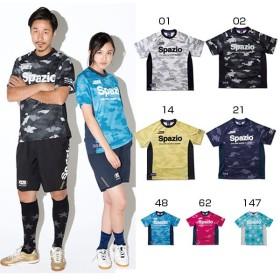 スパッツィオ メンズ レディース CAMUFFAMENTOプGE-0360ラクティスシャツ サッカーウェア フットサルウェア 練習着 GE-0360