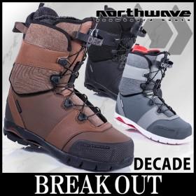 あすつく対応 18-19 NORTHWAVE / ノースウェーブ DECADE ディケイド メンズ ブーツ スノーボード 2019