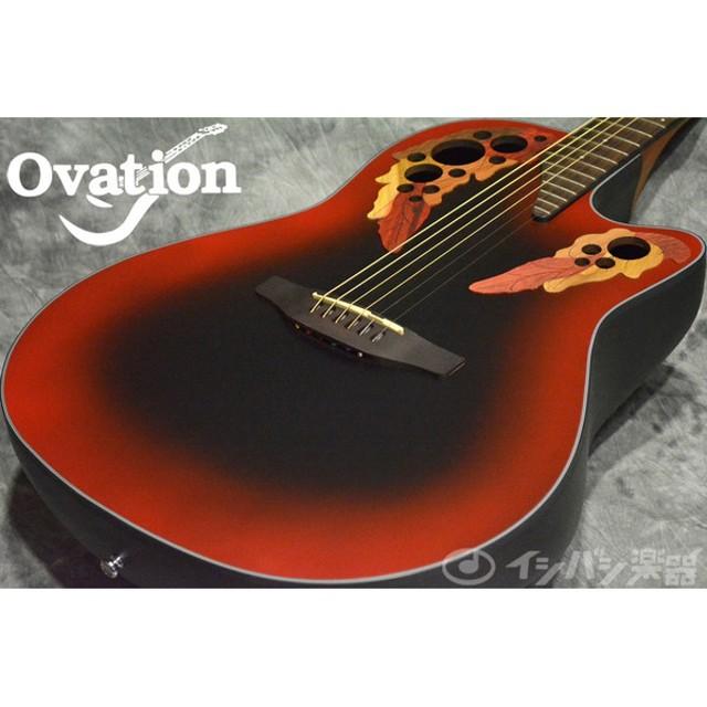 Ovation オベーション / Celebrity Elite CE44 Reverse Red Burst 《S/N:CCV1501662》【心斎橋店】