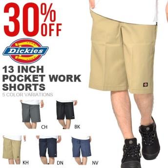 ディッキーズ Dickies ハーフパンツ ショートパンツ メンズ 13インチ セルフォンポケットワークショーツ 42283 定番 30%off