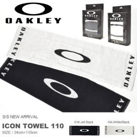 スポーツタオル OAKLEY オークリー メンズ ICON TOWEL 110 ロゴタオル 34cm×110cm 得割20
