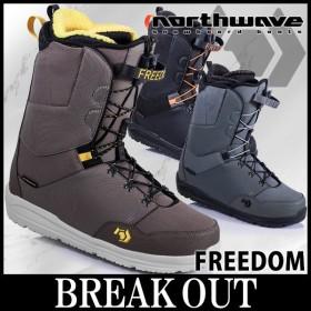 あすつく対応 18-19 NORTHWAVE / ノースウェーブ FREEDOM フリーダム メンズ ブーツ スノーボード 2019