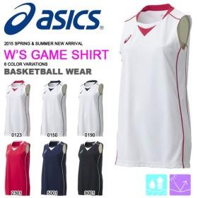 【最大23%還元】 ノースリーブ アシックス asics ゲームシャツ レディース バスケットボール バスケ 部活 練習 試合