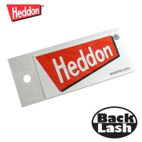 ヘドン Heddon ロゴステッカー Sサイズ