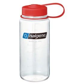 ナルゲン(nalgene) ナルゲン 広口0.5L Tritan クリア 91308 水筒 ボトル (Men's、Lady's)