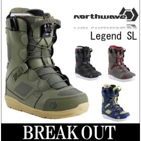 あすつく対応 16-17 NORTHWAVE / ノースウェイブ LEGEND SL レジェンド メンズ ブーツ スノーボード 2017 型落ち