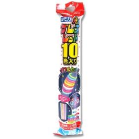 ルミカ 光るブレスレット カラフルセット 10色各1本