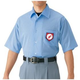 MIZUNO ミズノ 高校野球/ボーイズリーグ審判員用 半袖シャツ(ノーフォーク型)(野球) 52HU2418