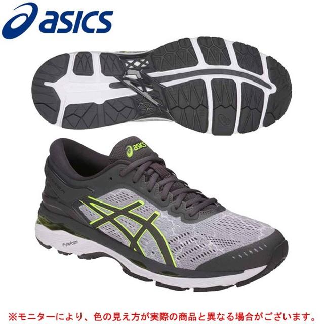 ASICS(アシックス)GEL-KAYANO 24 LITE-SHOW(T8A4N)ランニングシューズ マラソン ジョギング メンズ