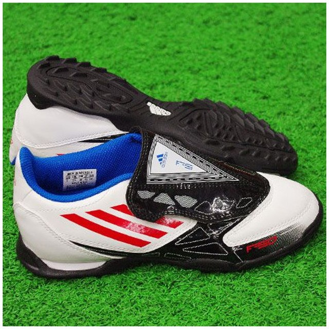 F5 TRX TF J V ホワイト×コアエネジーS12 【adidas アディダス】サッカージュニアトレーニングシューズv21887