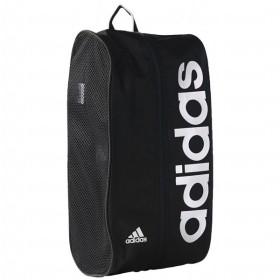 リニアPER シューズバッグ ブラック 【adidas|アディダス】サッカーフットサルバッグdez41-aj9954