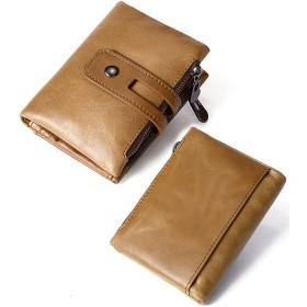 a68415a773b5 二つ折り財布 - BIG BANG FELLAS 本革 二つ折りダブルジップ 財布 短財布
