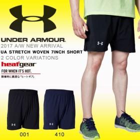 得割30 ランニングパンツ アンダーアーマー UNDER ARMOUR UA STRETCH WOVEN 7INCH SHORT メンズ ショーツ 短パン ランニング ウェア
