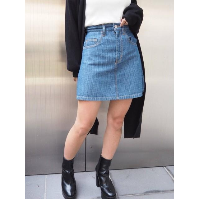 [MURUA]ジャガードDENIM スカート