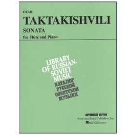 楽譜 タクタキシヴィリ/ソナタ(50481826/フルートとピアノ/輸入楽譜(T))