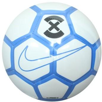 ストライク X ホワイト×フォトブルー 【NIKE|ナイキ】サッカーボール5号球sc3093-101-5