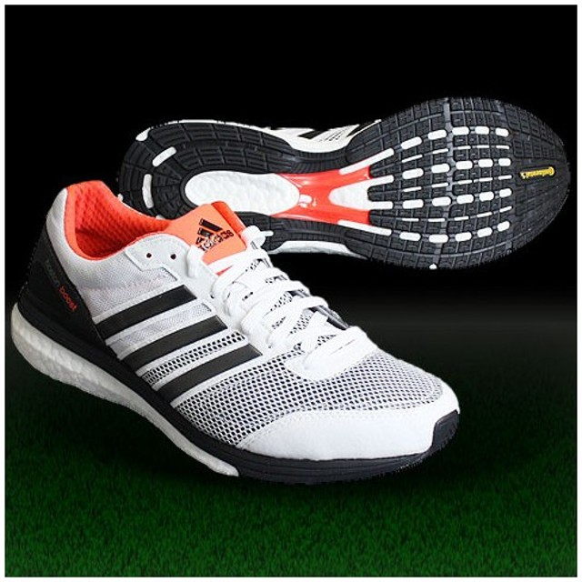 adizero Boston boost Wide コアホワイト×コアブラック 【adidas|アディダス】ランニングシューズm18816