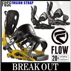 あすつく対応 18-19 FLOW/フロー FUSE FS フューズ メンズ レディース ビンディング バインディング スノーボード 2019