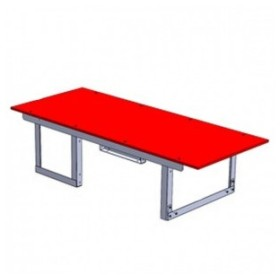ジェフコム バンキャビネット テーブルタイプ サイズ:幅1400×奥行580×高さ350mm SCT-T07