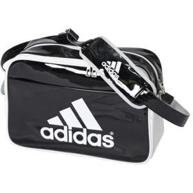 エナメル ショルダー M2 ブラック×ホワイト 【adidas|アディダス】サッカーフットサルバッグz7678-ah8528