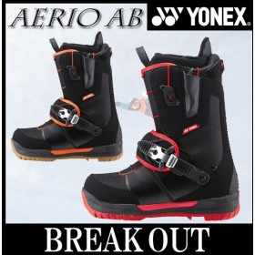 15-16 YONEX / ヨネックス AERIO AB ステップイン STEP IN メンズ レディース ブーツ スノーボード 2016 型落ち