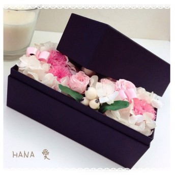 Preserved Flower Box□*
