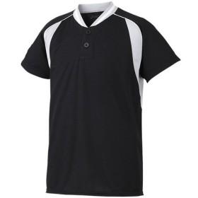 アシックスベースボール(asics/野球) Jr.ベースボールシャツ(ジュニア) BAD12J-9010