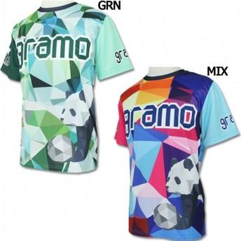 polygon 半袖プラクティスシャツ 【gramo グラモ】サッカーフットサルウェアーp-041