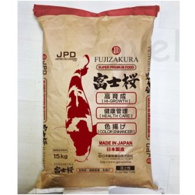 ニチドウ 日本動物薬品 富士桜 L 15kg 《トルラ酵母・耐熱性ビタミンCなどの栄養成分を配合》【鯉 エサ】